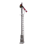 LQ semaphore signal w/relay base (HO scale)