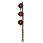 triple searchlight signal (HO scale)