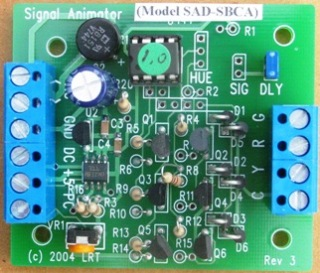 Signal Animator version SAD-SBCA-IR with infrared detection