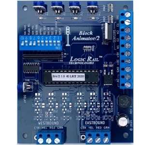 Block Animator/2 (use with external detectors)