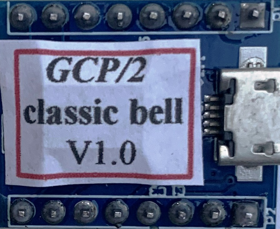 GCP/2 classic mechanical grade crossing bell sound module