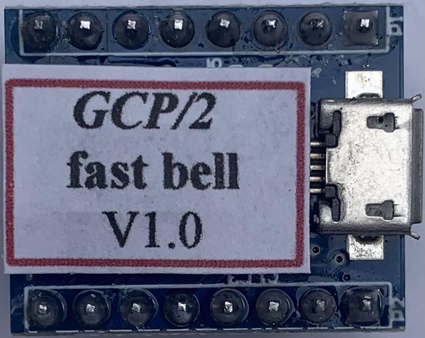 GCP/2 fast classic mechanical grade crossing bell sound module