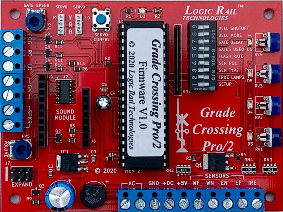 Grade Crossing Pro/2 (with infrared detection)