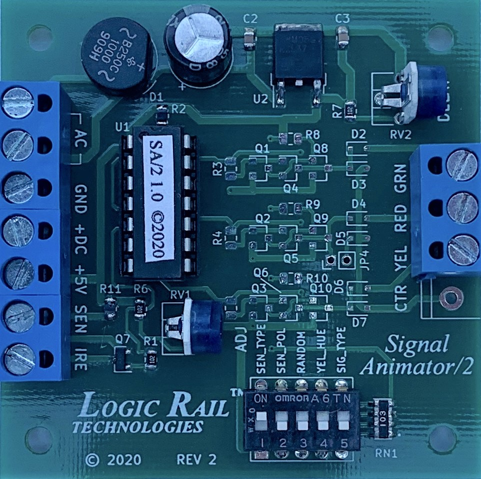 Signal Animator/2 (with photocell detection)