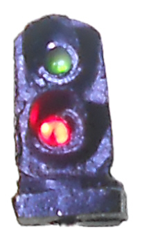 2-light (G/R) dwarf signal (N scale)