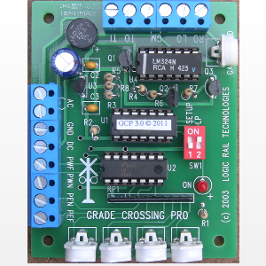 Grade Crossing Pro with IR detection
