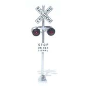 N scale dual grade crossing signals
