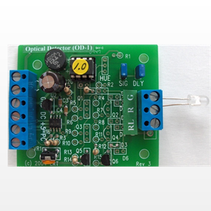 Optical Detector with photocell