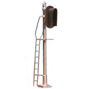 Hooded 3-light vertical signal (HO scale)