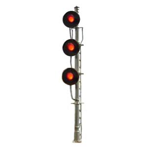 triple searchlight signal (HO scale)