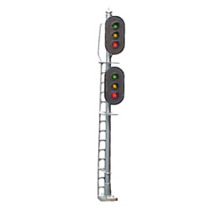 dual 3-light vertical signal (HO scale)