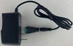 120VAC input, 12V DC 1 amp wall transformer