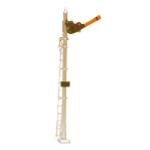 N scale Upper Quadrant semaphore signal