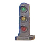 3-light dwarf signal (N scale)