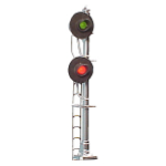dual searchlight signal (HO scale)