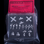 HO scale grade crossing signals (kit)