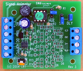 Random Signal Animator version RSA-1-IR with infrared detection
