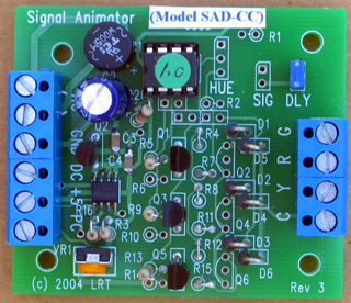 Random Signal Animator version RSAD-CC-IR with infrared detection